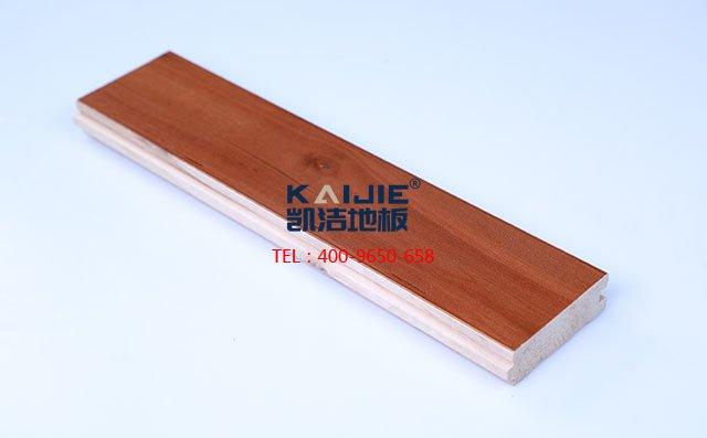 枫桦木C级结疤板运动木地板