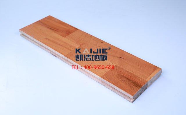 枫桦木B级双拼板运动木地板