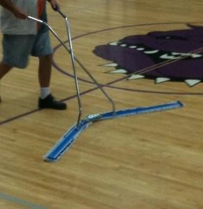 干货!体育馆地板清洁宝典!