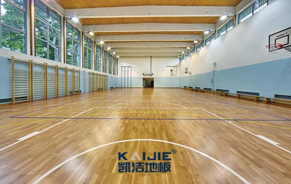 运动木地板?运动舒畅、安全的保障