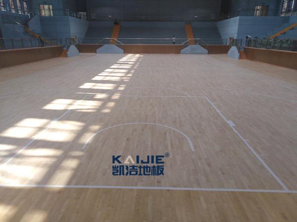 衡水第一中学川南分校体育馆地板