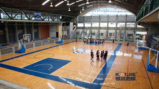 专业篮球场地划线和相关配套设施的标准