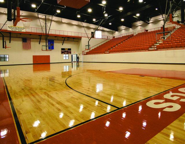 篮球场比赛专用运动木地板,篮球运动木地板厂家