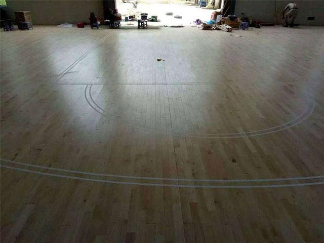 篮球场专用木地板,体育馆专用木地板,运动木地板厂家
