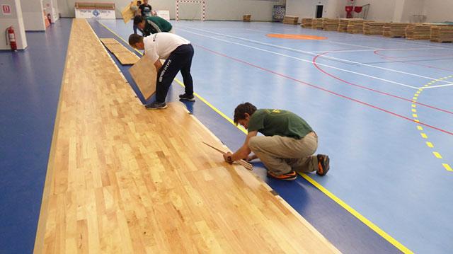 运动木地板安装,体育木地板安装,篮球木地板安装,羽毛球木地板安装