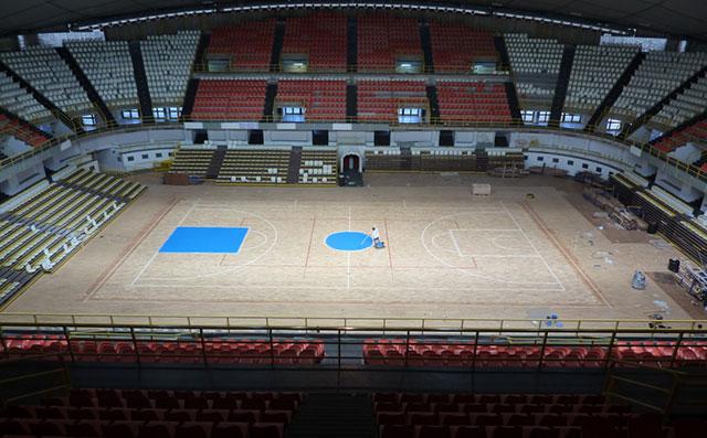 室内体育馆专用运动木地板——凯洁地板