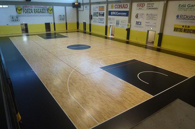 篮球馆运动木地板铺装,体育馆运动木地板铺装