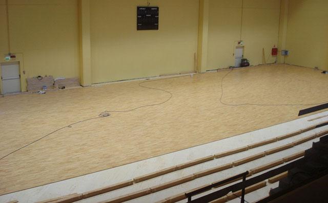 篮球馆专用运动木地板,体育馆专用运动木地板,羽毛球馆专用运动木地板