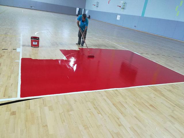篮球馆专用木地板,体育馆专用木地板,运动木地板厂家