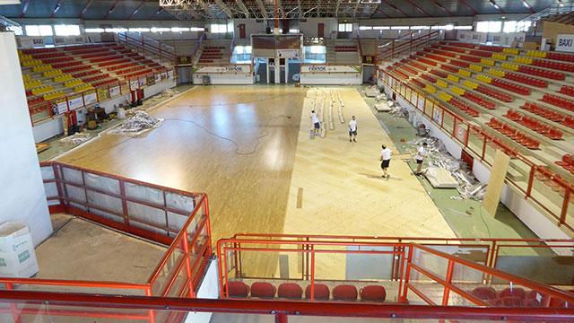 篮球场专用木地板,体育馆专用木地板,专用运动木地板优势