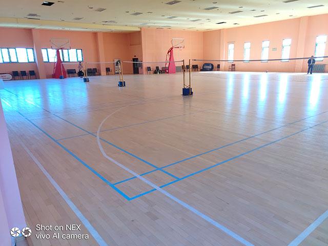 羽毛球专用木地板,篮球馆专用木地板