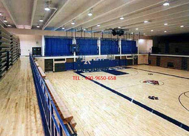 体育馆运动木地板起泡原因——凯洁地板