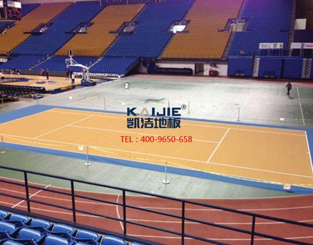 专业体育馆运动木地板选购——凯洁地板