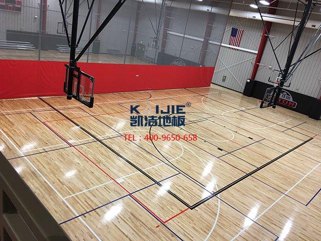 体育馆专用运动木地板选购——凯洁地板