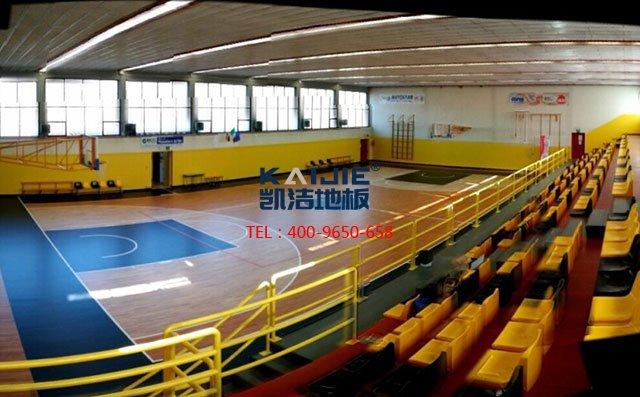 环保的篮球馆专用运动木地板