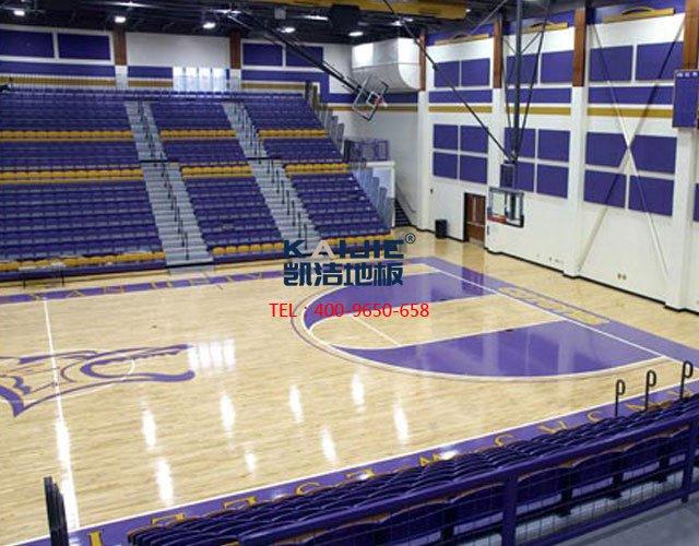 篮球馆运动木地板十大品牌——凯洁地板