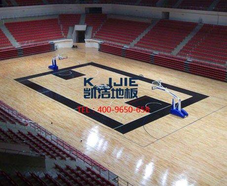 体育馆运动木地板厂家——凯洁地板