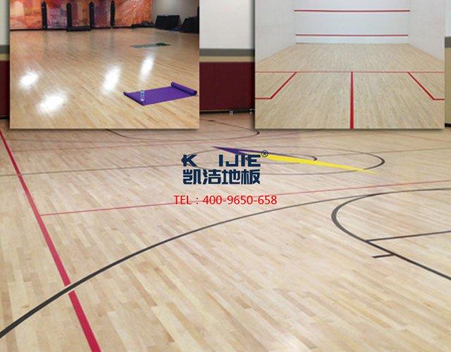 篮球馆木地板厂家——凯洁地板