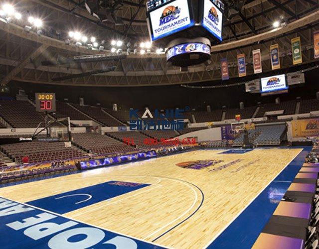 体育馆专用运动木地板厂家——凯洁地板