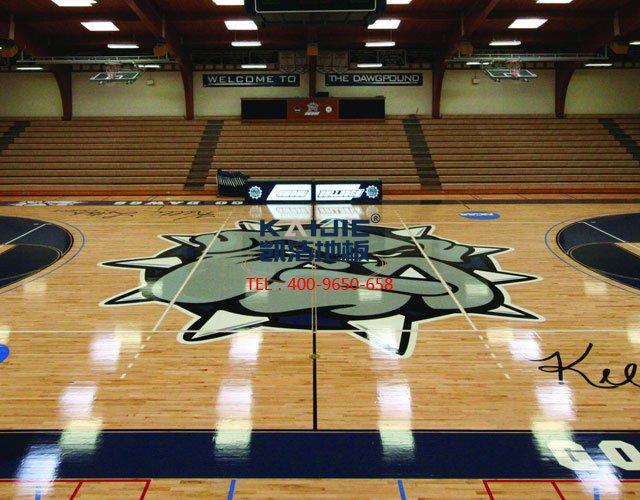 篮球馆专用运动木地板厂家——凯洁地板