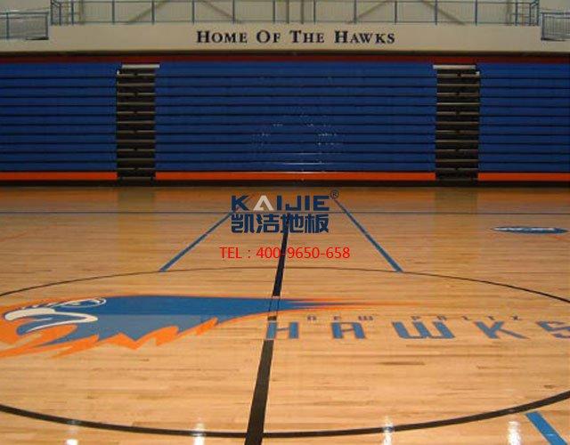 篮球馆运动木地板辨真假——凯洁体育木地板