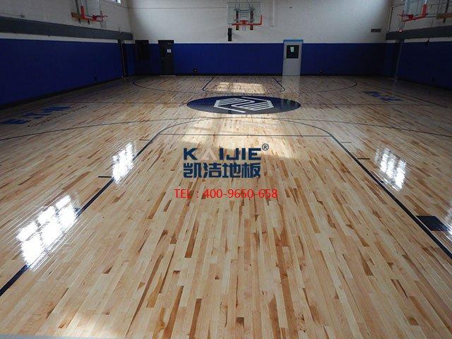 体育馆专用运动木地板辨别真假——凯洁体育木地板