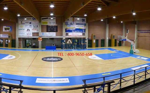 篮球馆专用体育运动木地板——凯洁体育木地板