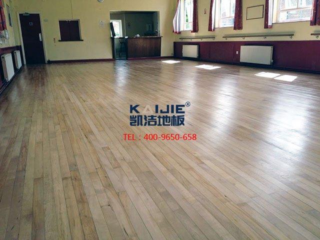 舞蹈室专用舞台木地板——凯洁体育木地板