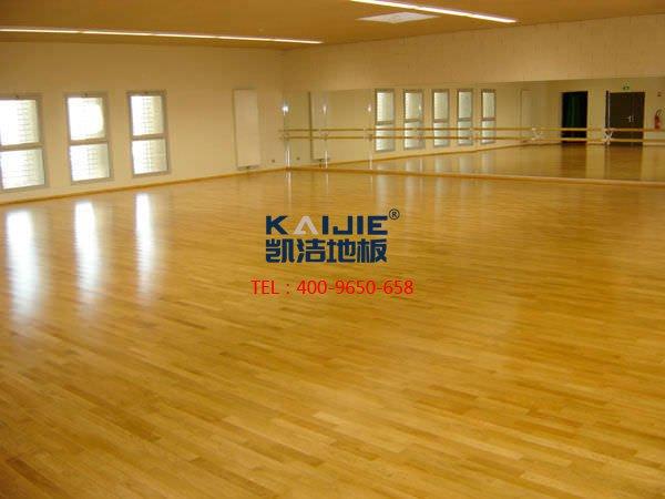 瑜伽室专用体育木地板——凯洁体育木地板