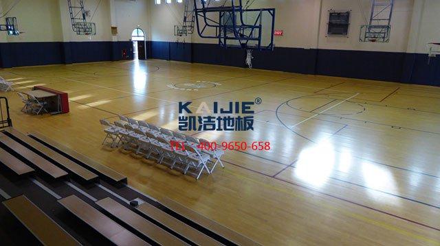 影响篮球馆专用体育木地板价格因素——凯洁体育木地板