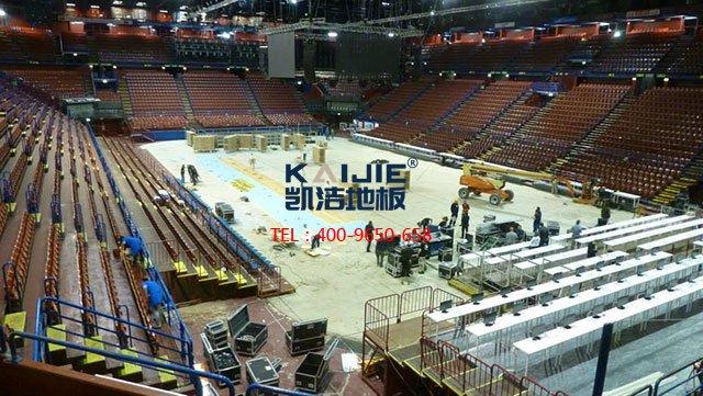 室内体育馆专用体育木地板防潮——凯洁体育木地板