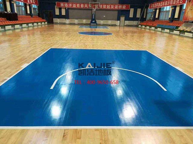 室内体育馆专用运动木地板材质——凯洁体育木地板