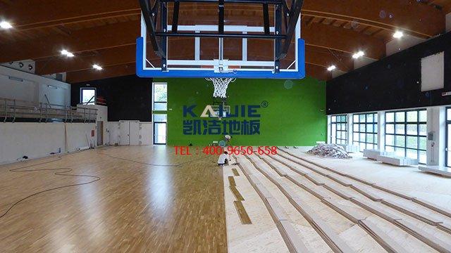 羽毛球馆专用体育木地板选择——凯洁体育木地板