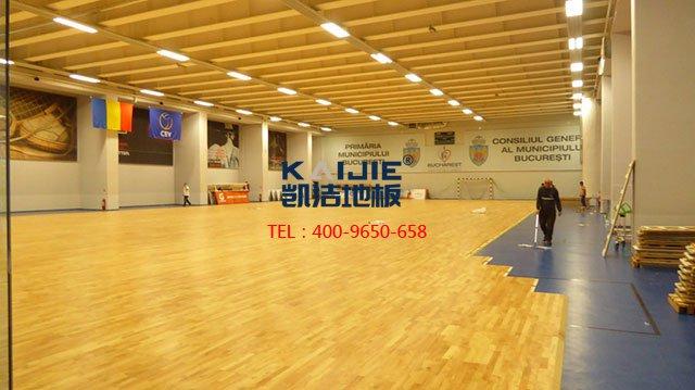 舞蹈室专用运动木地板——凯洁体育木地板