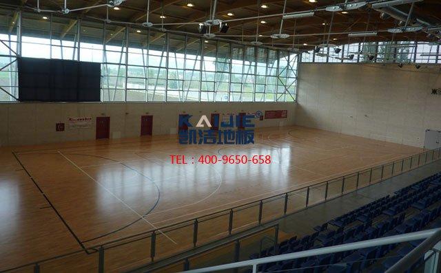 松木体育木地板有哪些特性——凯洁体育木地板