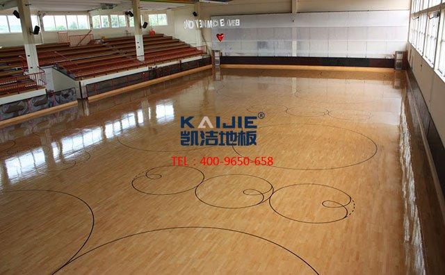 松木运动木地板有哪些优点——凯洁体育木地板