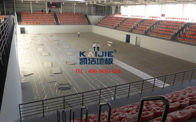 专业的运动木地板生产厂家——凯洁体育木地板