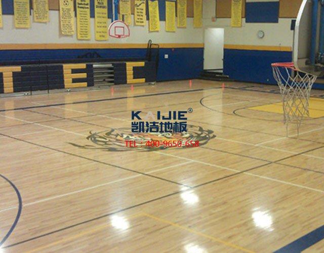 为什么体育运动木地板会开裂——凯洁体育木地板