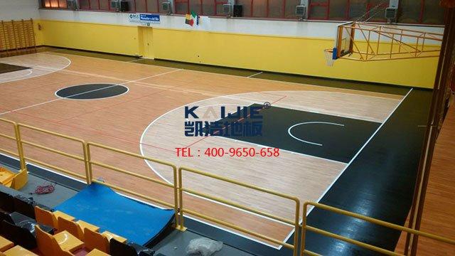体育运动木地板内在品质检测方法——凯洁体育木地板