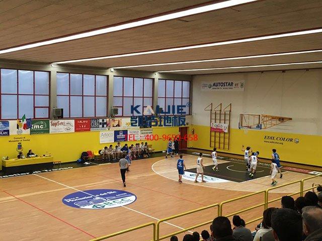 体育馆运动木地板外观检测方法——凯洁体育木地板