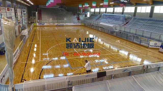 体育馆运动木地板外观检测方法——凯洁地板