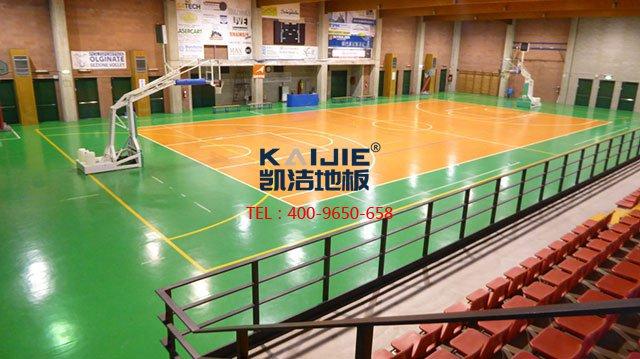 篮球馆专用运动木地板价格——凯洁体育木地板