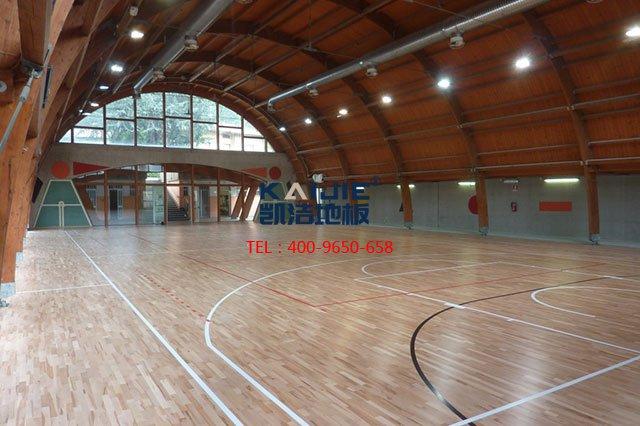 体育馆专用运动木地板结构——凯洁体育地板