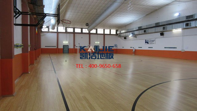 篮球馆专用体育木地板结构——凯洁体育木地板
