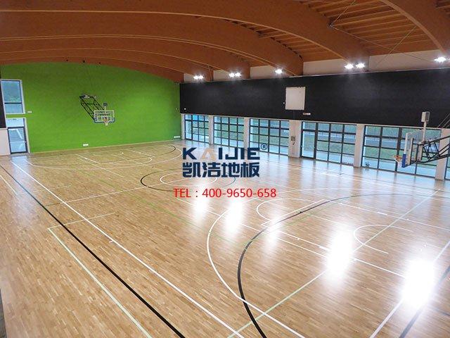 综合体育馆运动木地板工程施工方案——凯洁地板
