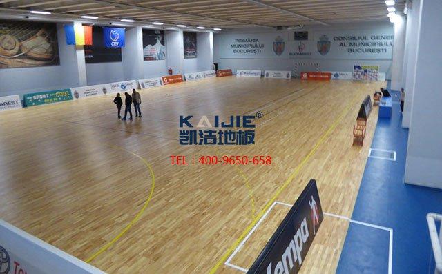 篮球馆专用木地板材料与结构的选择_凯洁地板