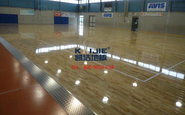 篮球馆专用木地板材料与结构的选择——凯洁地板