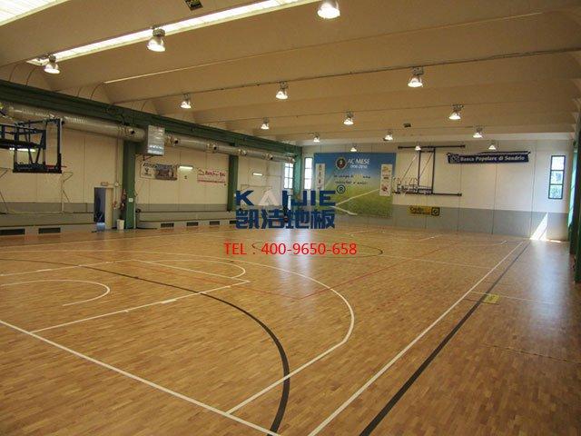 体育木地板日常维护Z容易犯的错误 体育馆木地板维护——凯洁地板