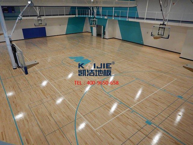 专业体育馆运动木地板的国家标准 体育木地板厂家——凯洁地板