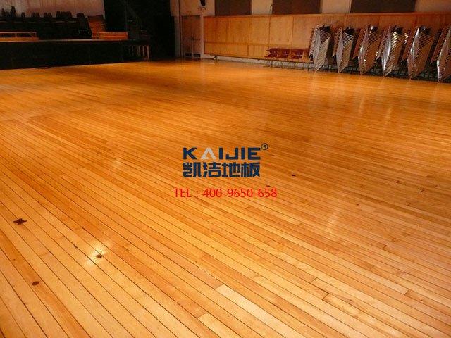 西安舞台木地板厂家哪家好?舞台木地板质量怎么样?——凯洁地板